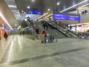 Wien 10 Aufgang Haupthalle