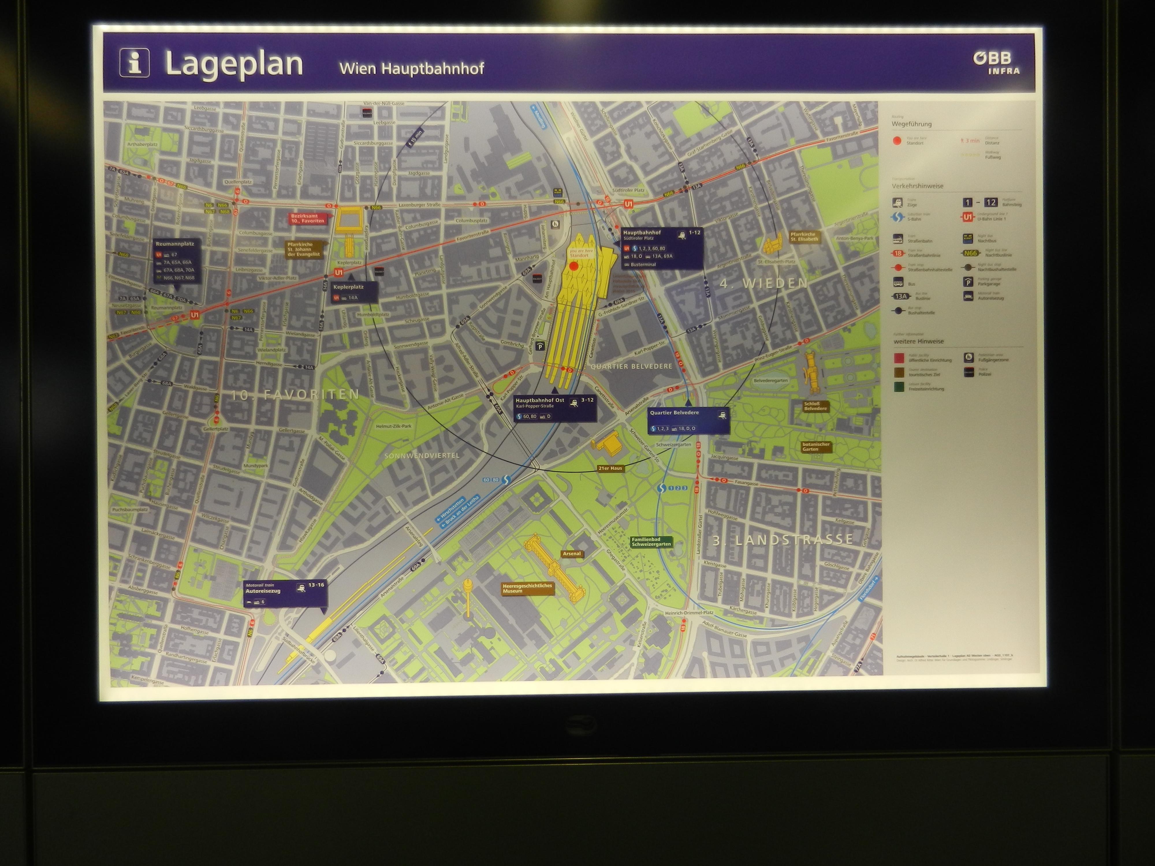 Wien 2 Lageplan