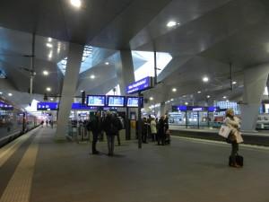Wien 30 Eindrücke Perron 9