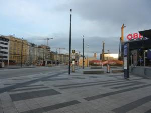 Wien 49 Tramhaltestelle Nord
